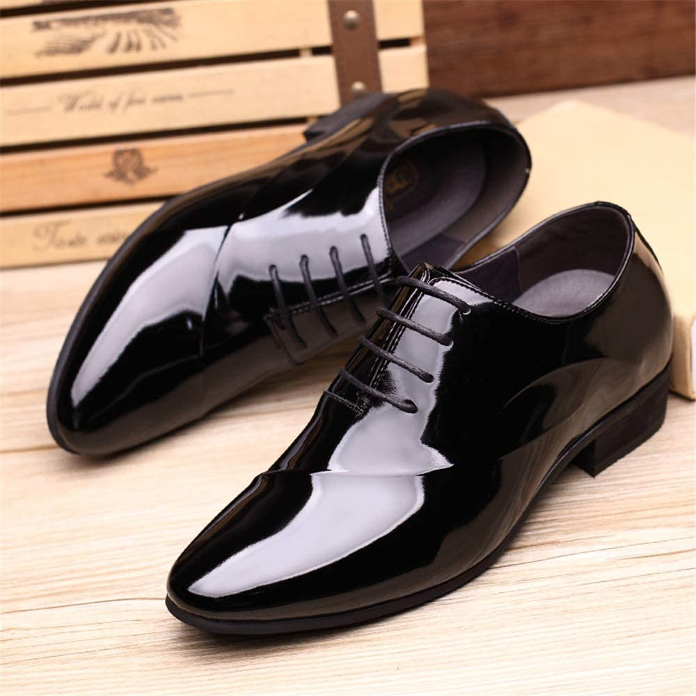 Handmade Men/'s Genuine Bourgogne Cuir Oxford Embout Lacets Chaussures US483