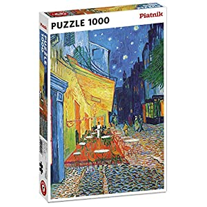 Piatnik 5390 Van Gogh Caf Terrace At Night Puzzle 1000 Pezzi