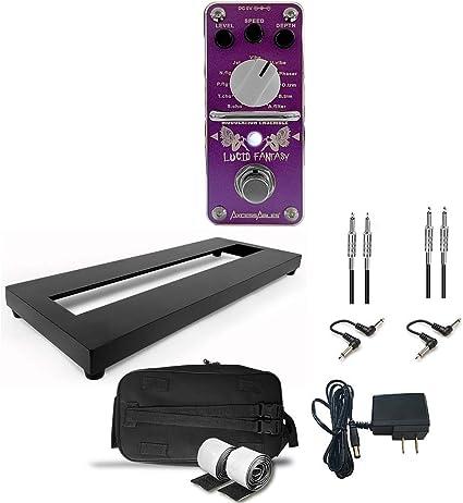 AxcessAbles - Pedal para guitarra (aleación de aluminio, con bolsa ...