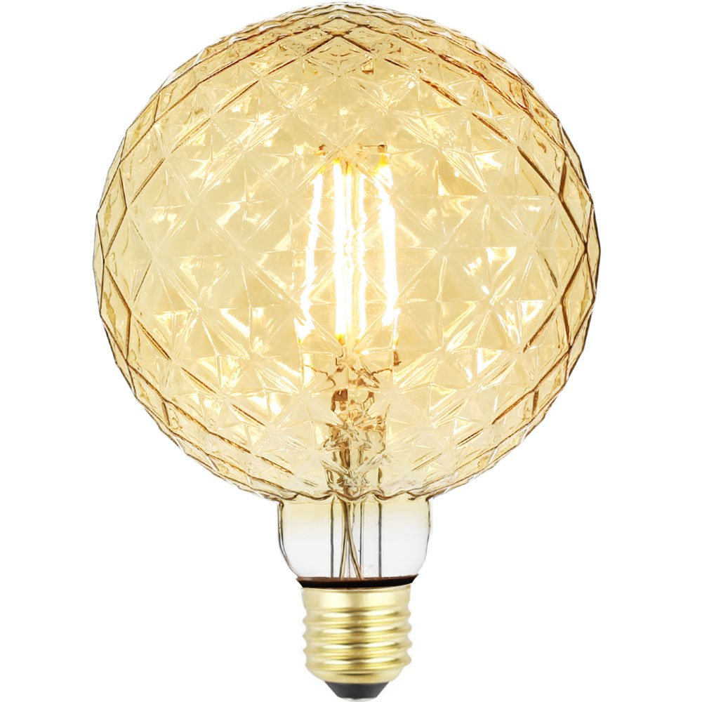 TIANFAN Edison Led Bulb Big Globe Crystal G125 4W 220/240V E27 Vintage Filament Light Bulb (Clear) Haining Techfan Electronic Co. Ltd