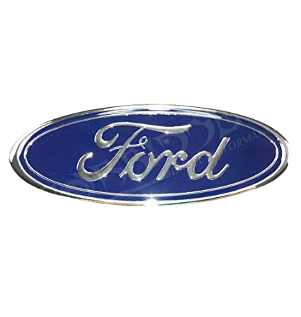 amazon com: ford f81z-8213-ab front grille emblem 7 inches by 2 3/4 inches:  automotive