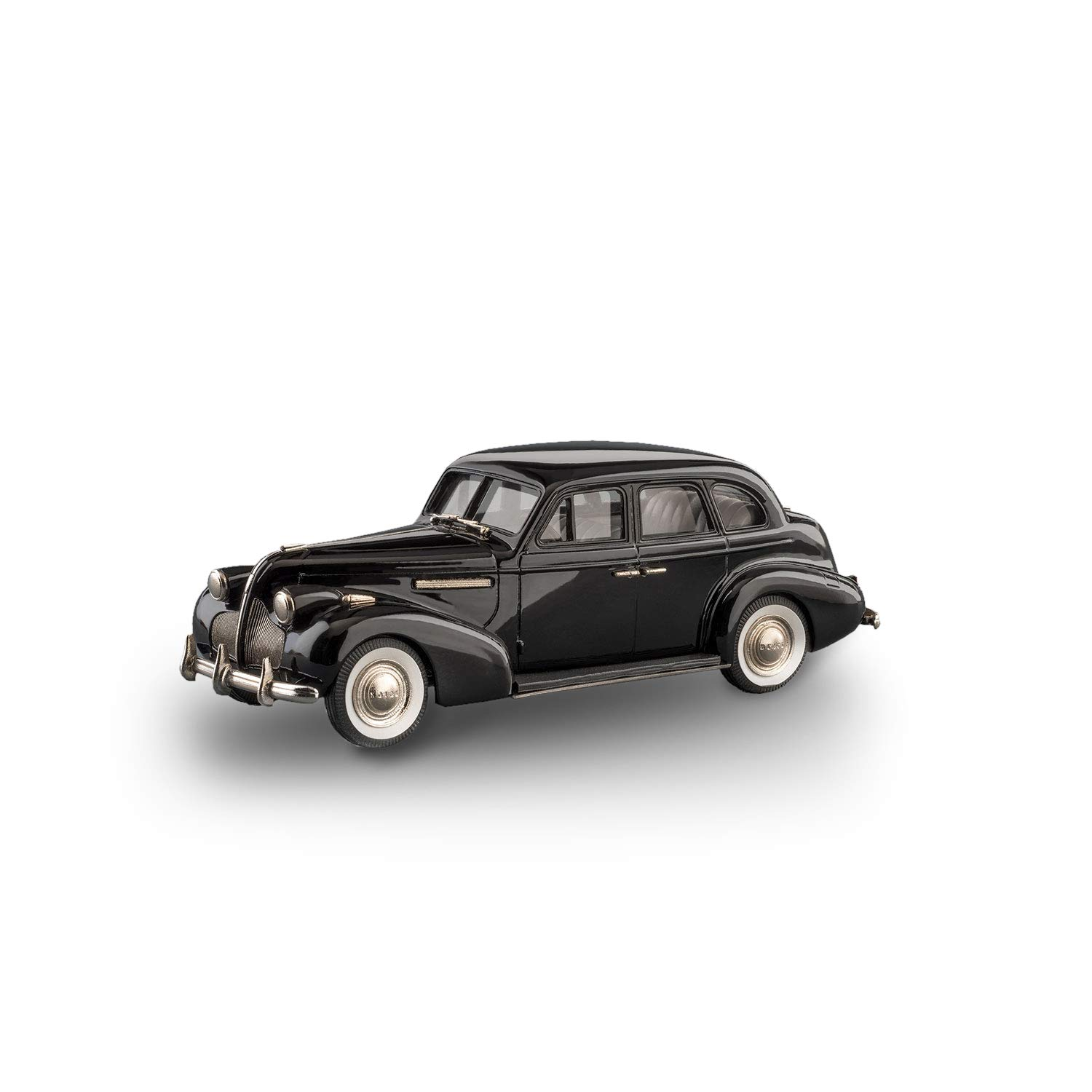 Brooklin Models - 1939 Buick Century 4 Door Sedan M-61 - BC007 - nero (1 43 Scala)