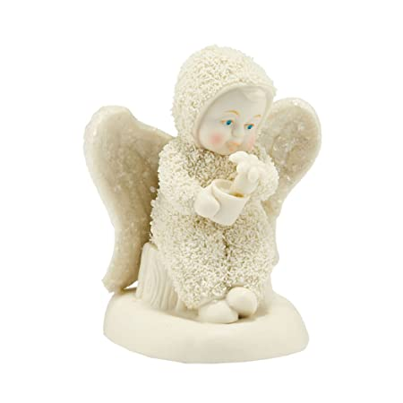 Department 56 Snowbabies Dream Collection Grow in Grace Figurine, 3.74
