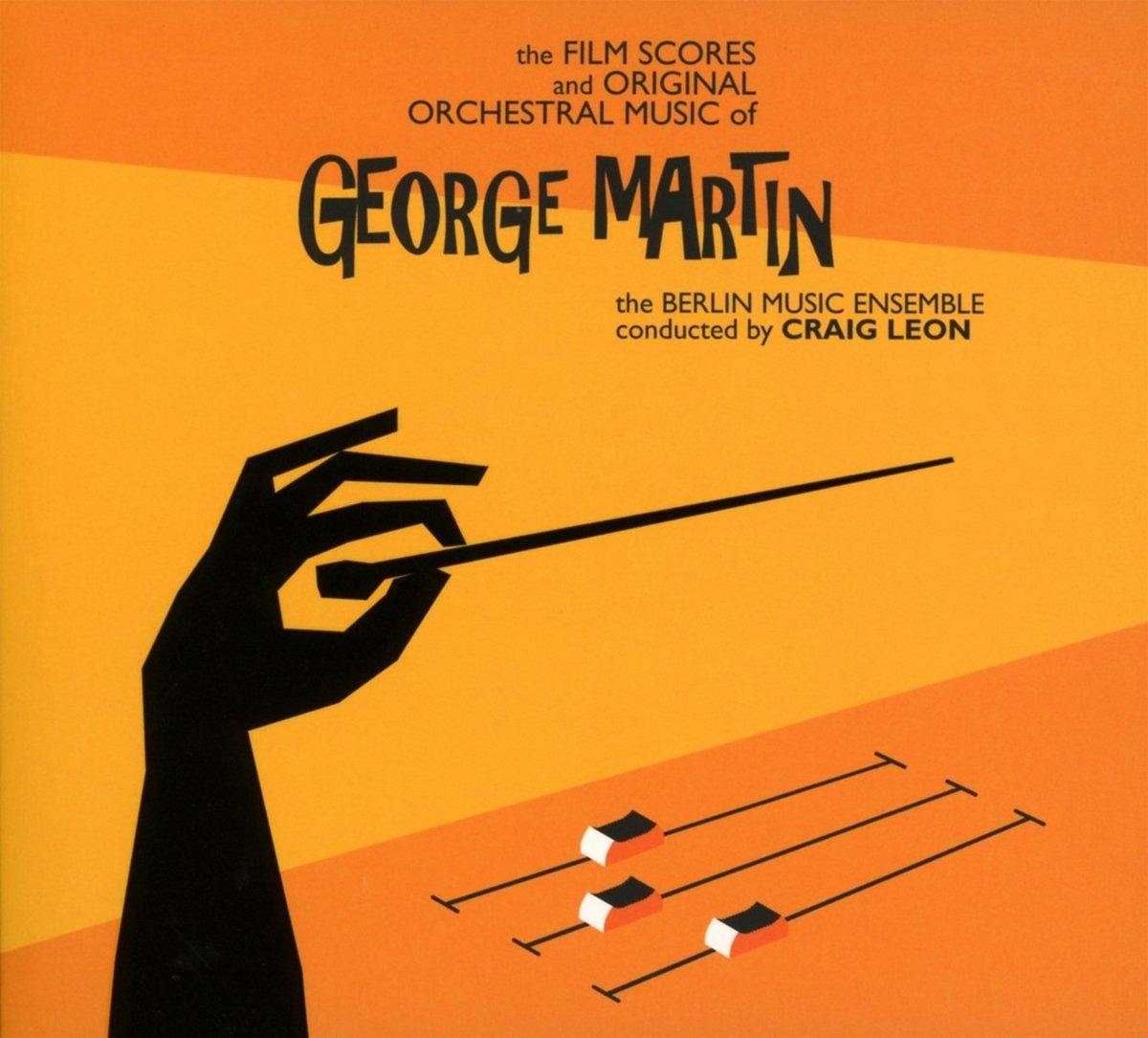 CD : Craig Leon - The Film Scores And Original Orchestral Music Of George Martin (CD)