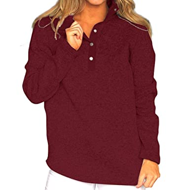 f73d826a884 Image Unavailable. Image not available for. Color: Womens Banded Bottom  Blouse,Ladies Long Sleeve ...