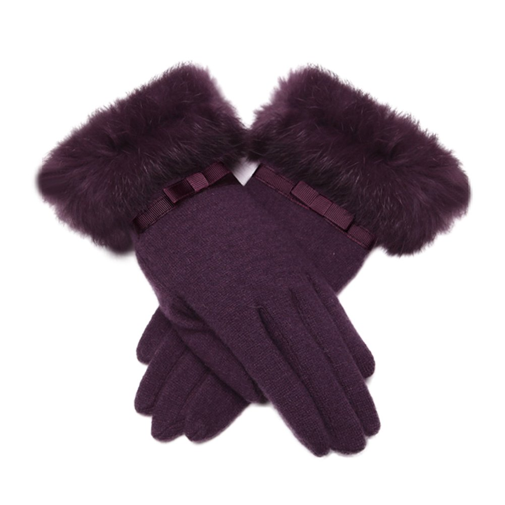 Best女性用ギフト/ヴィンテージスタイルレディース冬手袋/タッチスクリーン手袋   B019FAZKS2