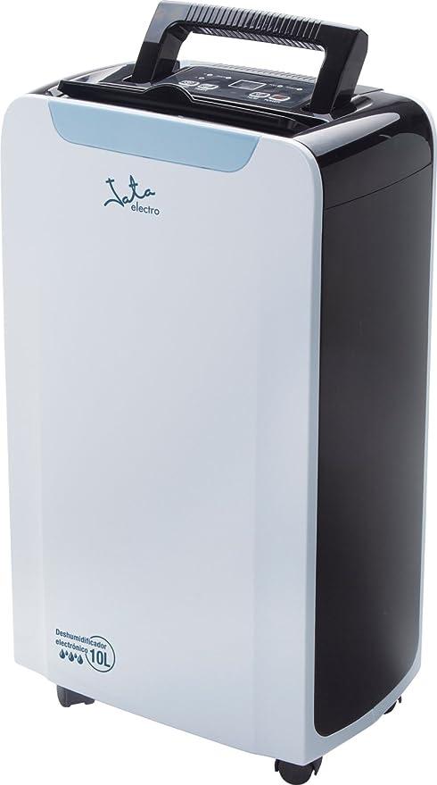 Jata DH997 Deshumidificador electrónico con Temporizador, silencioso, 210 W, 1.5 litros, 2