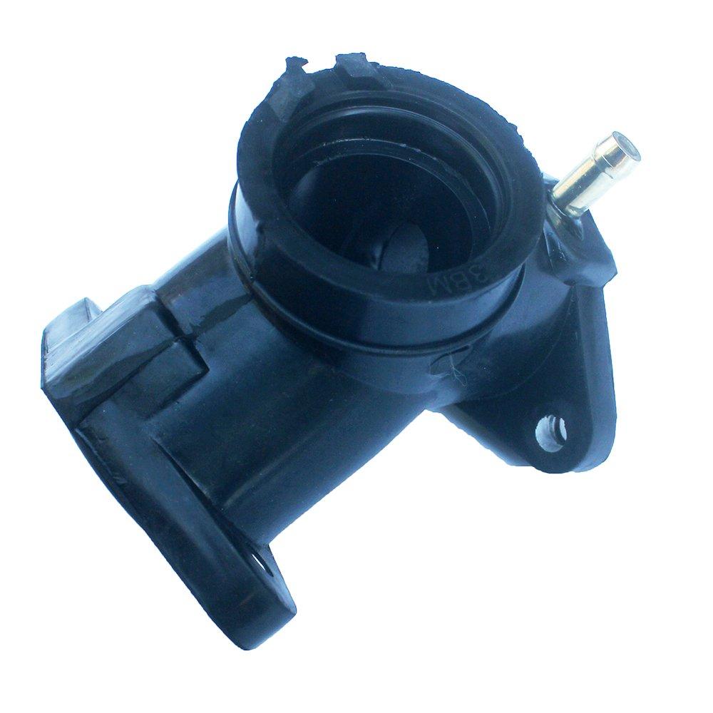 KIPA Carburetor Intake Manifold Rubber Pipe For YAMAHA Yamaha XV250 Route 66 V Star 250 Virago 250 Motorcycle