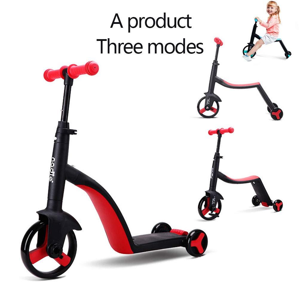 la mejor oferta de tienda online A Scooters para Niños, Triciclos Triciclos Triciclos para Niños, Scooters, Monturas, Juguetes para Exteriores, Niños Y Niñas Mayores De 3 Años.  Todo en alta calidad y bajo precio.