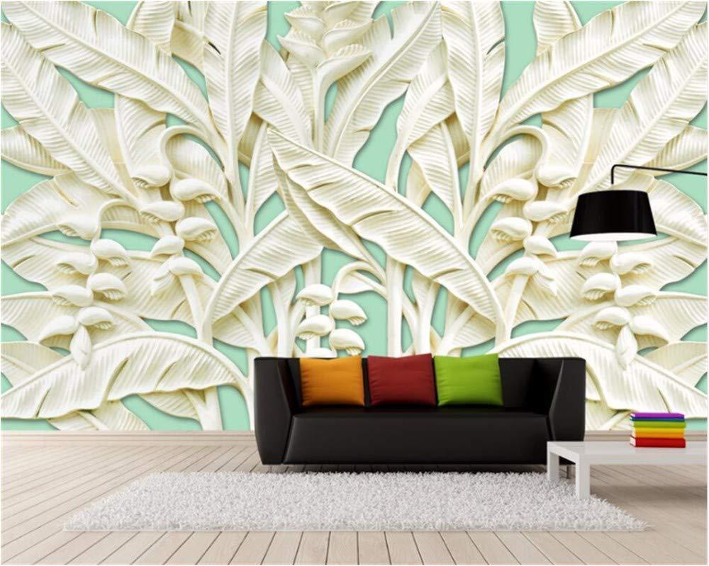 Weaeo 大きなカスタム壁紙3Dバナナの木の救済壁画の壁画の壁紙の装飾の壁紙 -280X200Cm B07HB1GT9B 280X200CM 280X200CM