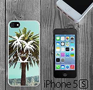 Cute Palm Trees No Bad Days Custom made Case/Cover/Skin FOR iPhone 5/5s
