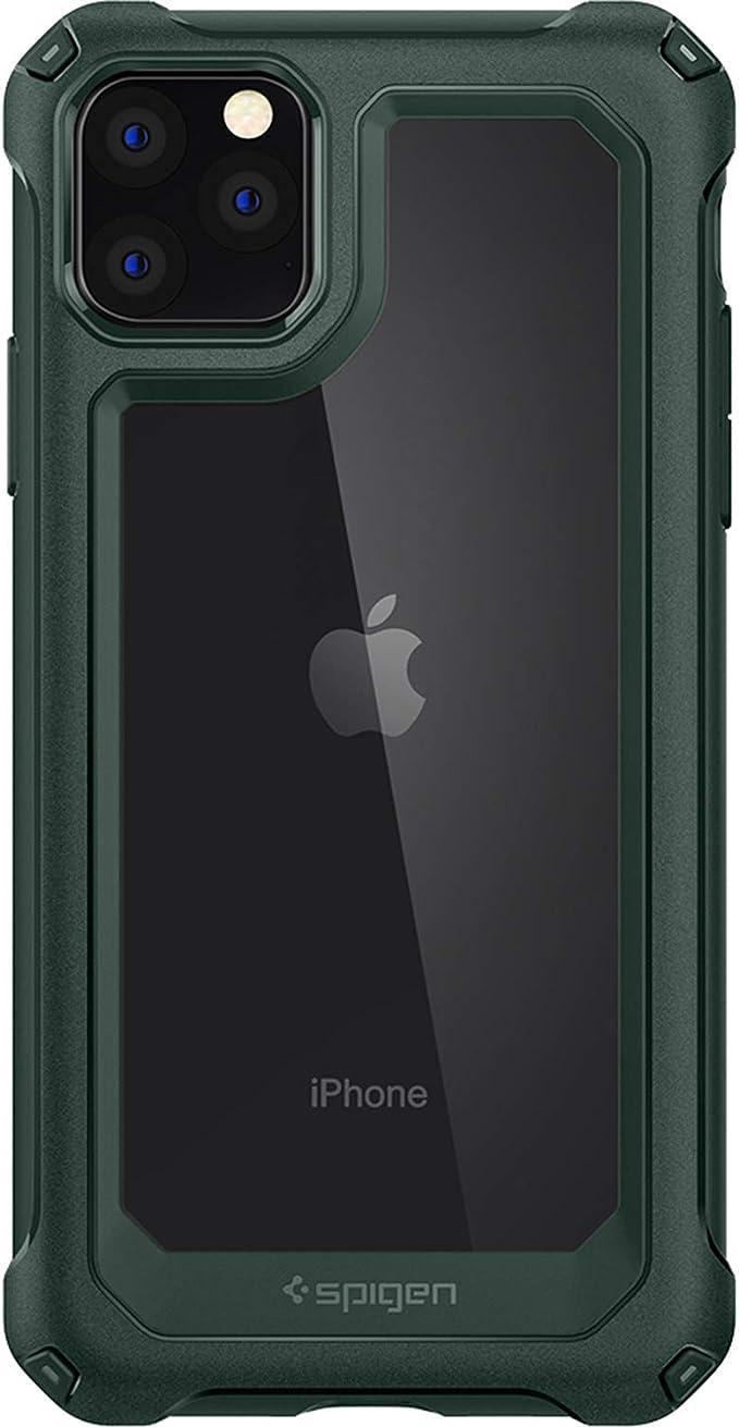 Spigen 8809671016455 Standard Iphone 11 Pro Max Grün Elektronik