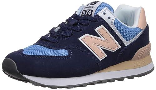 New Balance Damen Wl574 Sneaker 37 EU grau
