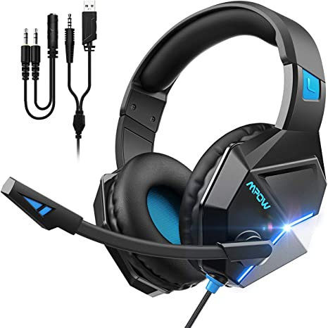 Mpow Gaming Headset, Clear & Positional