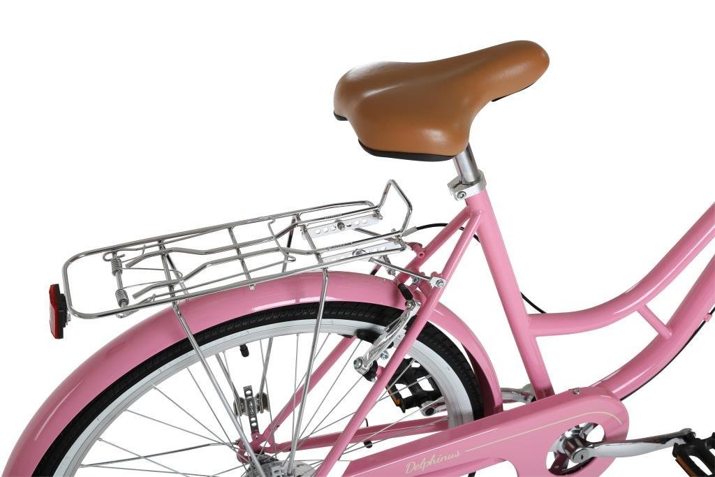 Size 19 Pink Barracuda Womens Delphinus 7 Bike