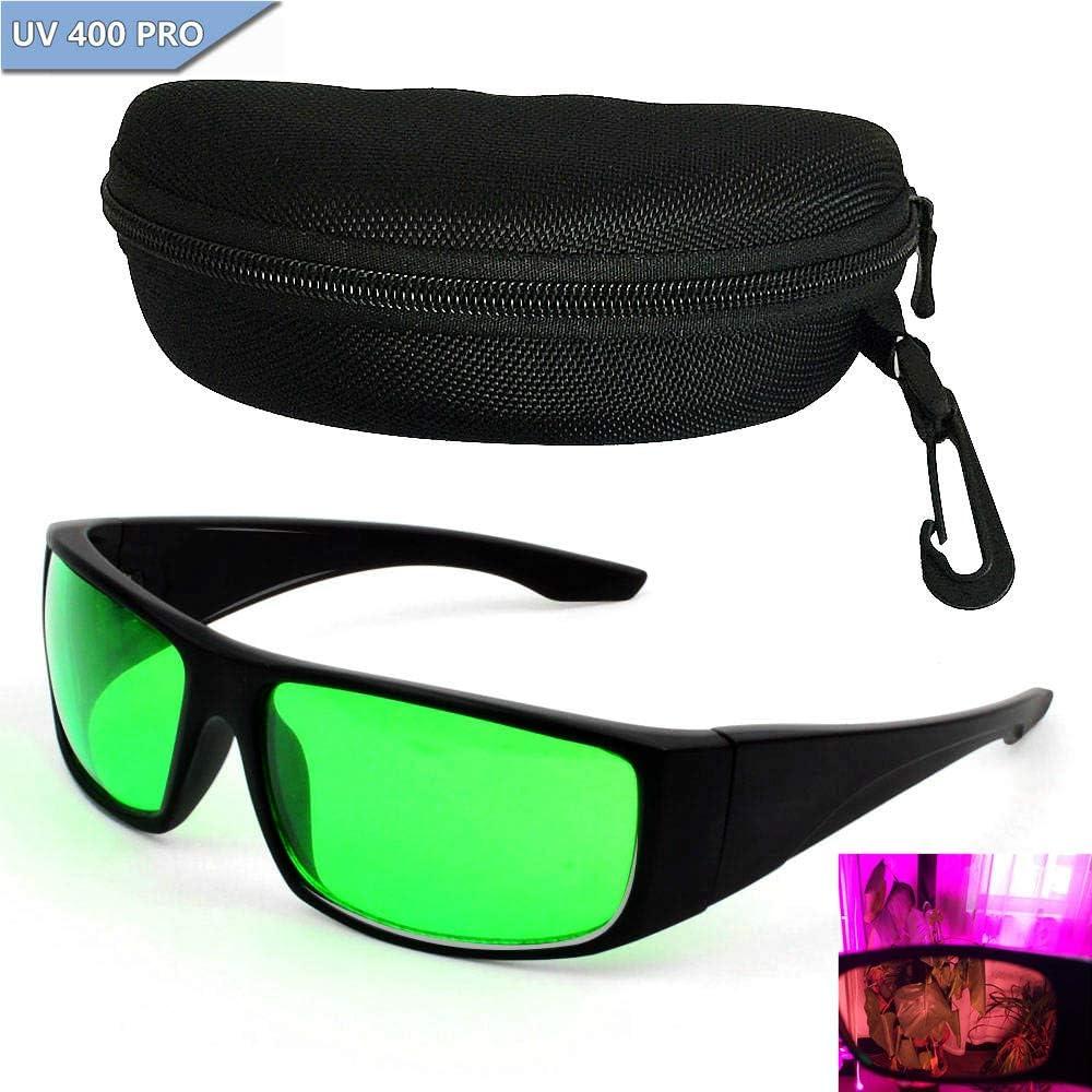 Grow Room Glasses Gafas de Protección solar para Lámpara LED de Plantas Gafas para Sala de Cultivo
