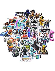 Vinyl Gaming Stickers for Kids(104pcs),Laptop Stickers for car Motorcycle Bicycle Luggage Decal Graffiti Game Party Favor for Kids Gamers and Adult