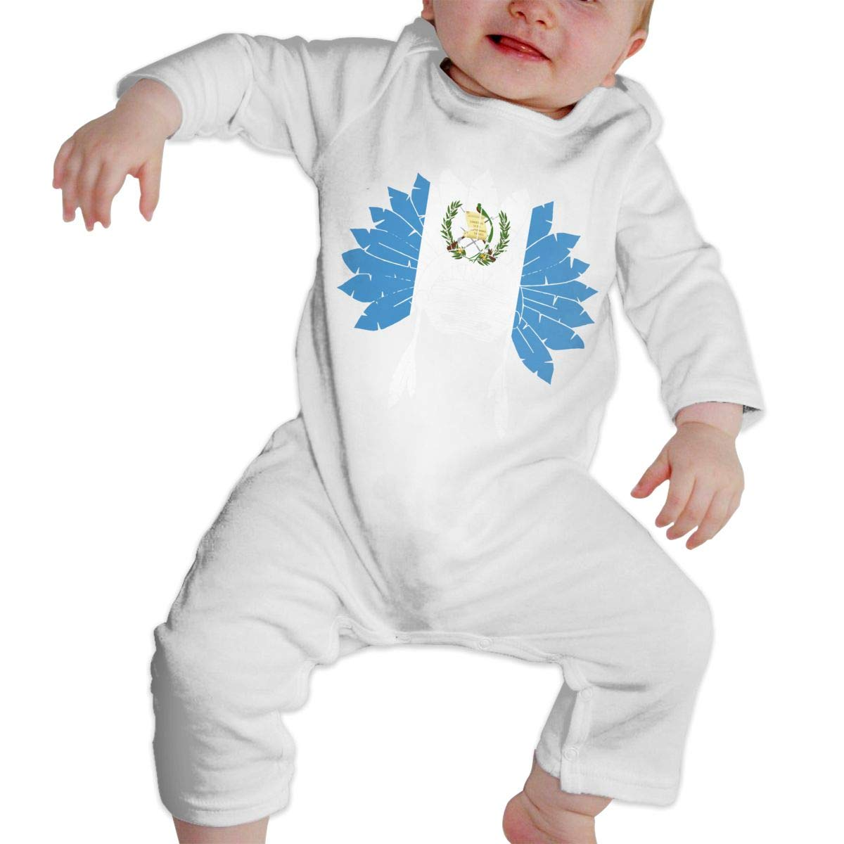 Baby Infant Toddler Cotton Long Sleeve Guatemala Native American Jumpsuit Romper One-Piece Romper Clothes