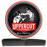 Uppercut Deluxe Pomade For Man 3.5oz, with BraidZ Comb
