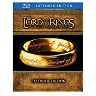 The Lord of the Rings: The Motion Picture Trilogy (The Fellowship of the Ring / The Two Towers / The Return of the King Extended Editions)  [Blu-ray]