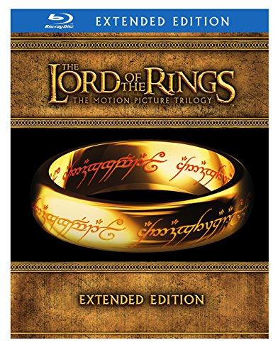 The Lord of the Rings The Motion Picture Trilogy (The Fellowship of the Ring  The Two Towers  The Return of the King Extended Editions)  [Blu-ray]