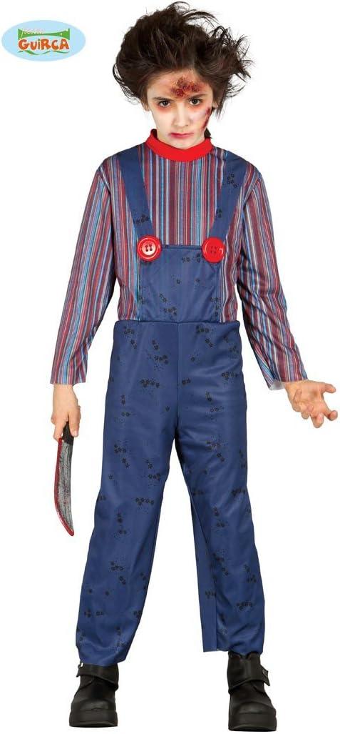 Disfraz para Halloween de Killer Doll para niños en varias tallas ...