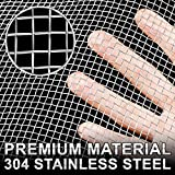 2 Pack 304 Stainless Steel Mesh Screen Woven