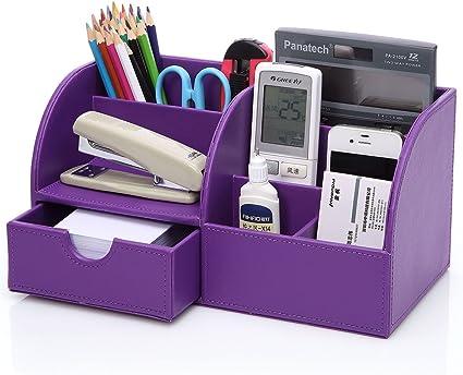 KINGFOM Multifunzionale Organizador de escritorio/Portalápices ...