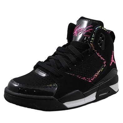 hot sale online 86dd4 7be55 Nike Air Jordan SC-2 (GS) Girls Basketball Shoes 459856-009 Black