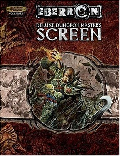Deluxe Eberron Dungeon Master's Screen (Dungeons & Dragons d20 3.5 Fantasy Roleplaying, Eberron Accessories)