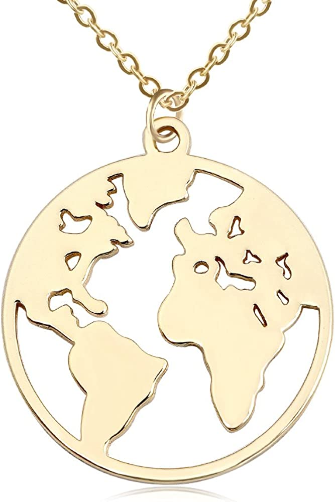Germany Map Necklace.Gold Heart Map Pendant.Germany Jewelry.Wanderlust Necklace.Berlin Charm Necklace.Munich Gold Necklace.Sister Gift.