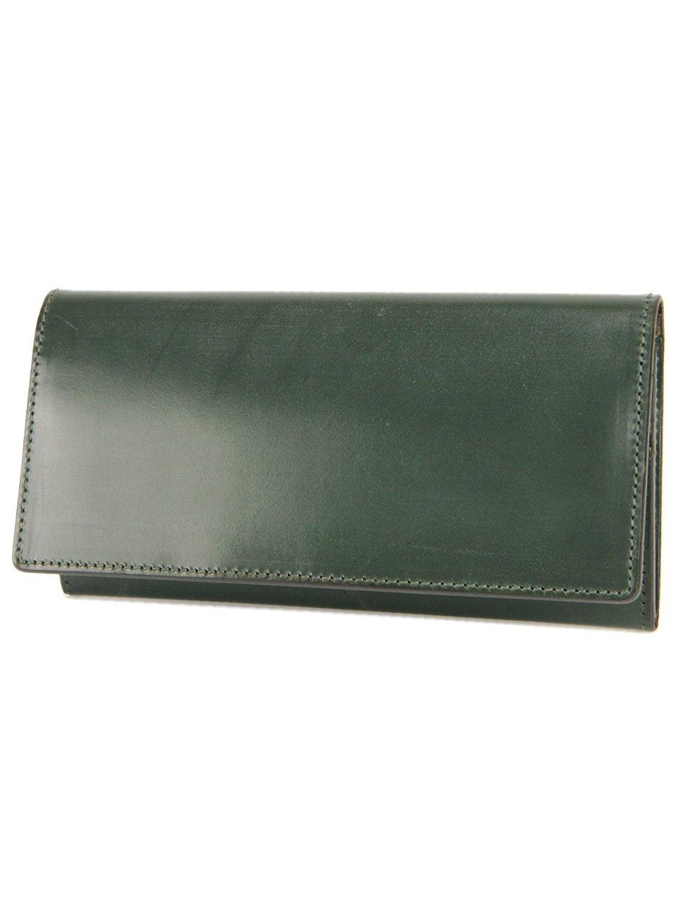 [コルボ] CORBO. 長財布 1LD-0236 face Bridle Leather フェイスブライドルレザーシリーズ B00PTE8OIW ダークグリーン ダークグリーン
