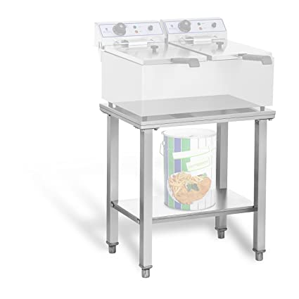 Royal Catering Estante para Freidora RCSF-15D (Superficie de ...