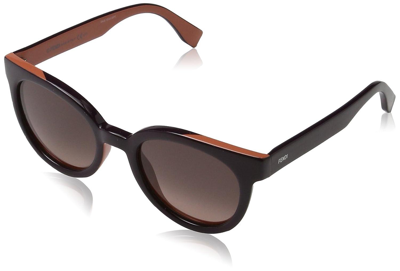 Fendi Colour Flash Cateye Sunglasses in Violet Salmon FF 0150/S U4S 51 VLT Salmon