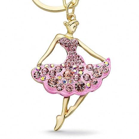 Para mujer llavero con diseño de bailarina de ballet dancer ...