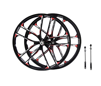 e7acf8b9031 ... mtb 5 spokes mountain bike wheels magnesium alloy 26 sds wheels 26 27 5  mountain ...