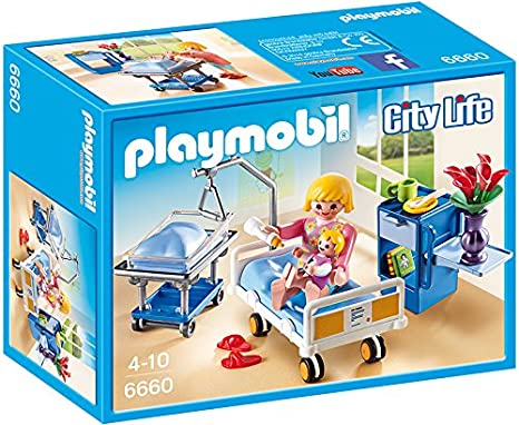 Playmobil City Life Dentist with Patient Playset 6662 for Kids 4 to 10