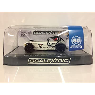 Scalextric C3723A 60th Anniversary Special Edition Packaging - Caterham  Superlight - R300-S Championship 2015 090cf5f844f
