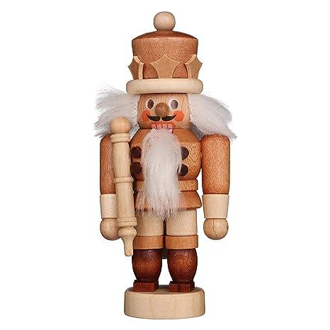 Amazon.com: Cascanueces de Navidad alemán Mini King colores ...
