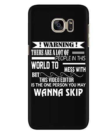 Amazon com: Design for Samsung Galaxy S7 Case, This Video Editor