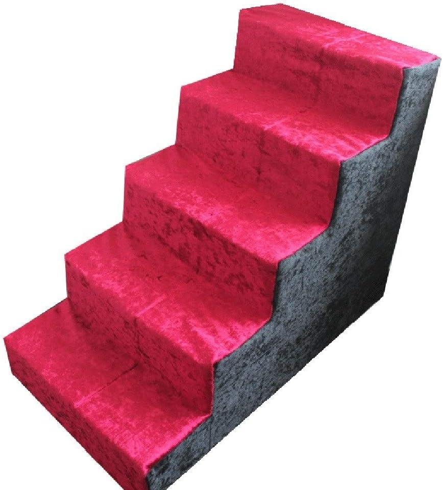 GLJJQMY Mascota Escalera Escalera Juguete Ocio Entretenimiento Juguete Mascota paraíso Mascota Mascota Necesidades diarias Escaleras de Mascotas: Amazon.es: Hogar