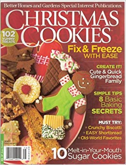 Christmas Cookies 2007 Better Home And Gardens Special Interest