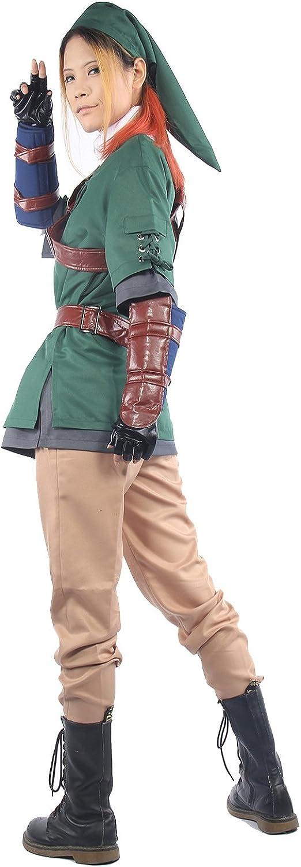 Nexthops Link Disfraz Cosplay de The Legend of Zelda Traje ...