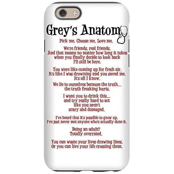 Amazon.com: CafePress - Grey\'s Anatomy Iphone 6 Tough Case - iPhone ...