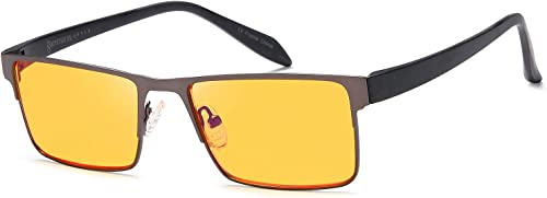 Gamma Ray Blue Light Blocking Orange Glasses