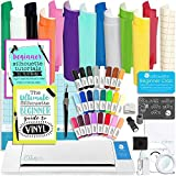 Silhouette Cameo 2 Bundle with Oracal 651 Vinyl, 24 Sketch Pens, Guide Books, and More