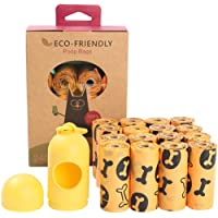 Dog Poop Bags Extra Thick and Strong for Dogs Guaranteed Leak-Proof Eco-Friendly Great Each Bag Measures 9 x 13 Inches…