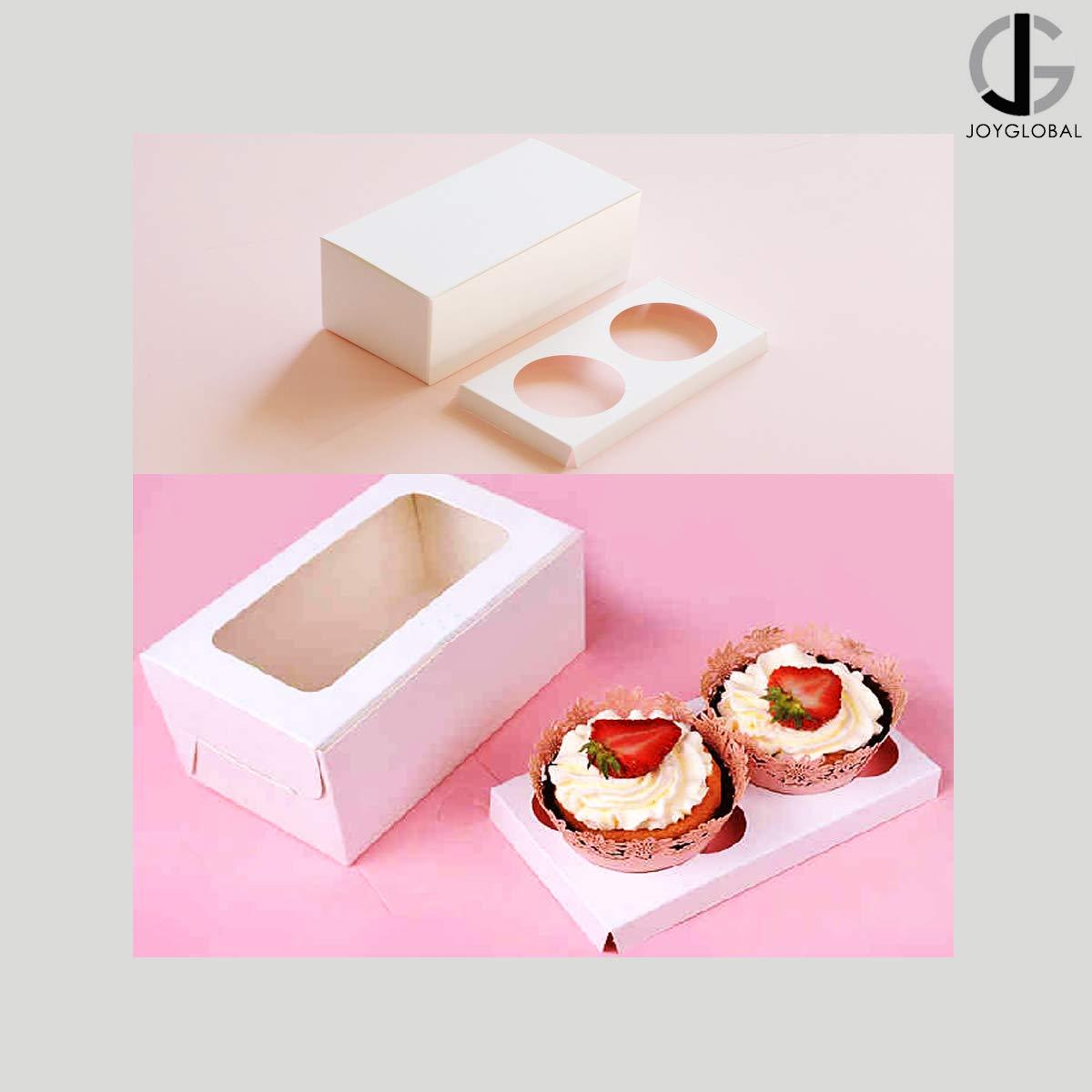 PINK 10 or more Premium Single Cupcake Boxes