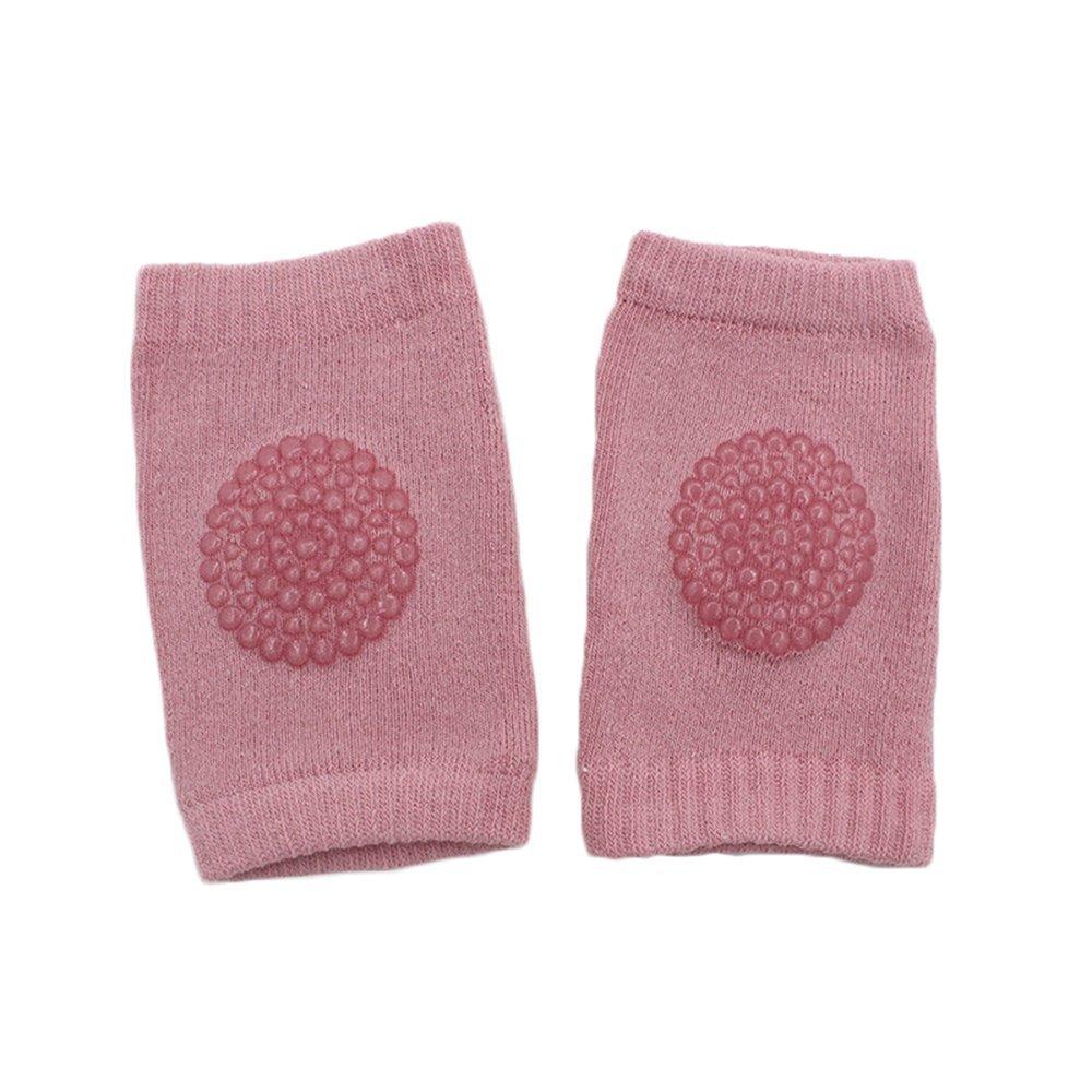 5 pares de rodilleras ajustables elásticas para bebés de 6 a 24 meses