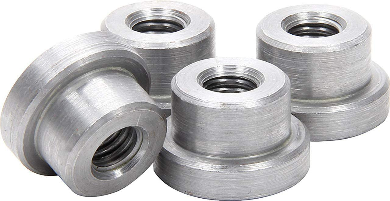 """Weld on Nuts 1//2/""""-13 Thread LONG Threaded Nut Steel Chassis Mount Tab Pack of 10"""